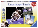 Ravensburger - Fascinating Space Puzzle 3 x 49 Pieces 09315