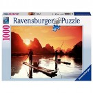 Ravensburger - Fisherman Sunset Jigsaw Puzzle 1000 Pieces 19085