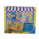 Ravensburger - Mopatops Shop Puzzle 2 In A Box 22300