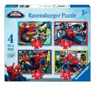 Ravensburger - Ultimate Spider Man 4 In A Box Jigsaw Puzzles 07363
