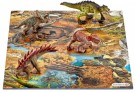 Schleich - Mini Dinosaurs with Marshland Puzzle 42331