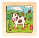 Sigikid - Wooden Puzzle Cow 40268