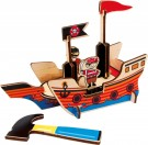 LEGLER 3D Puzzle Pirate Ship 6591