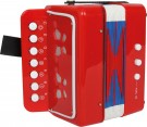"LEGLER Accordion ""Red"" 3321"