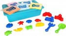 "LEGLER ""Allsorts"" kinetic sand with toy set 10304"