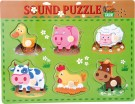 LEGLER Animal noises puzzle 10330