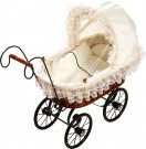LEGLER Antique Doll's Pram 8755