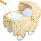 LEGLER Basket Doll's Pram, large 8754
