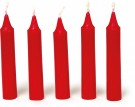 LEGLER Candles, Red 1974