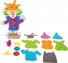 LEGLER Clown threading dressing doll 10184