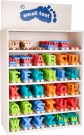 "LEGLER ""Coloured letter train"" display 10345"