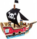 "LEGLER Construction Kit ""Pirate Ship"" 9538"