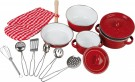 "LEGLER Cookware ""Red"" 8964"
