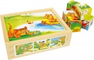LEGLER Cube-Puzzle Animal-Fun 6621