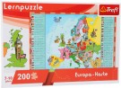 "LEGLER ""European map"" learning puzzle 10418"