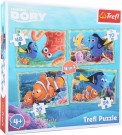 LEGLER Finding Dory puzzle 4 in 1 10425