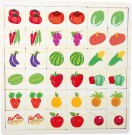 LEGLER Fruit and vegetable memory puzzle 10194