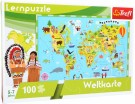 "LEGLER ""Map of the world"" learning puzzle 10420"