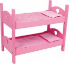 "LEGLER Single and Bunkbed ""Pink"" 2871"
