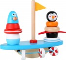 LEGLER South Pole puzzle game and balancing rocker 10041