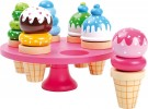 LEGLER Waffle Ice Cream with Display Stand 5854
