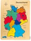 LEGLER Wooden Puzzle Germany 1965