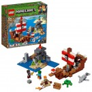LEGO Minecraft - The Pirate Ship Adventure Building Set
