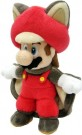 Super Mario Bros Flying Squirrel Mario Plush 23cm - rotaļlieta