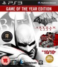 Batman: Arkham City - Game of the Year Edition PS3 video spēle