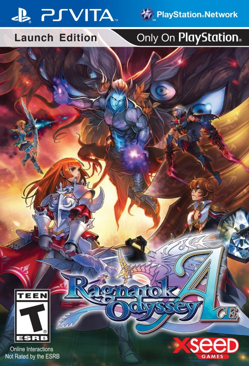 Ragnarok Odyssey Ace PSVita  44.99