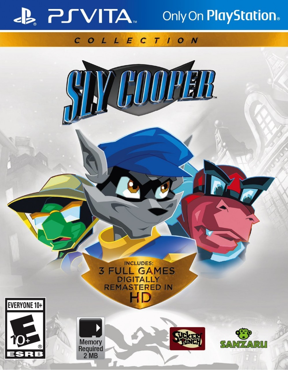Sly Cooper Collection PSVita  37.99