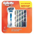 Gillette - Fusion Manual Razor + 11 blades - Skin Care