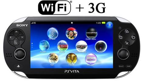 Spēļu konsole Sony Playstation Vita Wi-Fi/3G Black  251.71