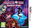 Monster High New Ghoul in School Nintendo 3DS spēle