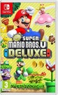 New Super Mario Bros U - Deluxe Nintendo Switch video spēle