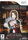 Cate West The Vanishing Files Nintendo Wii video spēle
