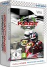 Kart Racer with 2 Racing Wheels Nintendo Wii video game