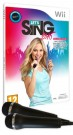 Let's Sing 2016 + 2 Microphones Nintendo Wii / Wii U video game