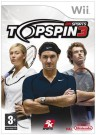 Top Spin 3 Nintendo Wii video game