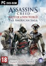 Assassin's Creed The American Saga Collection (Assassins Creed III (3) + IV (4) Black Flag + Liberation HD) PC DVD (ENG)