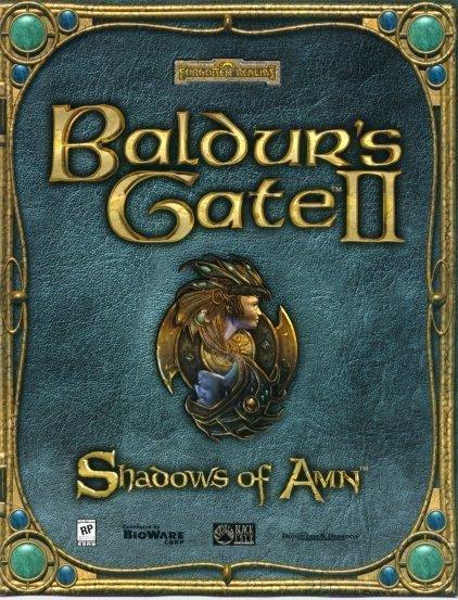 Baldurs Gate 2 PC datorspēle