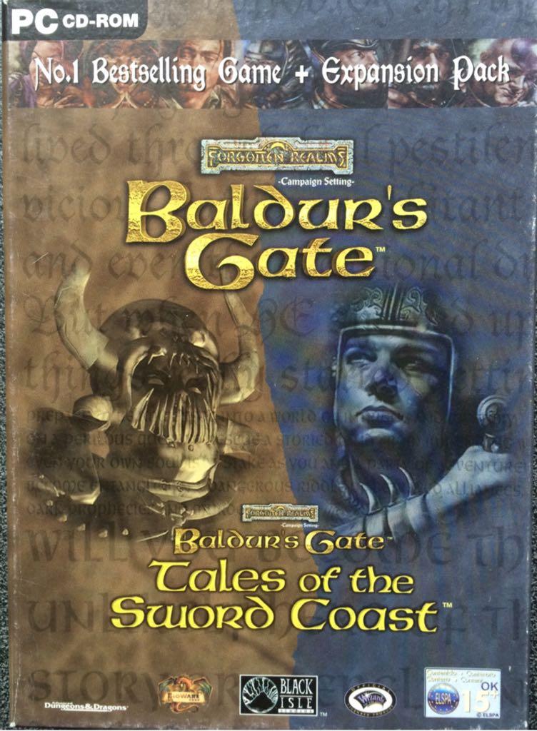 Baldurs Gate + Exp. PC datorspēle