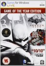 Batman Arkham City: Game of the Year Edition PC (EUR DVD)