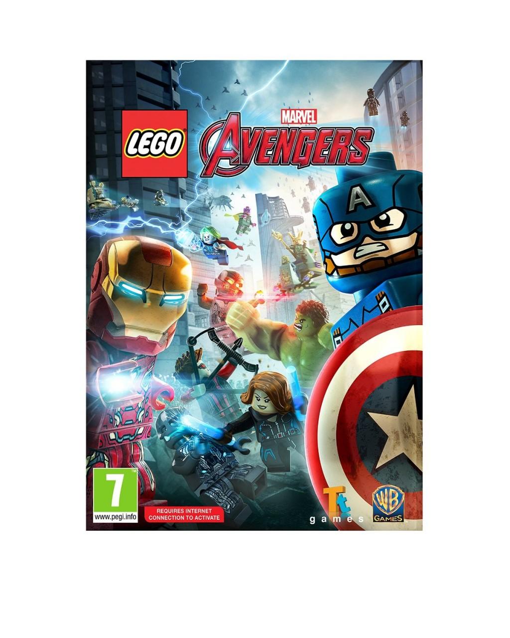 LEGO Marvel Avengers PC DVD computer game - eveikals.lv