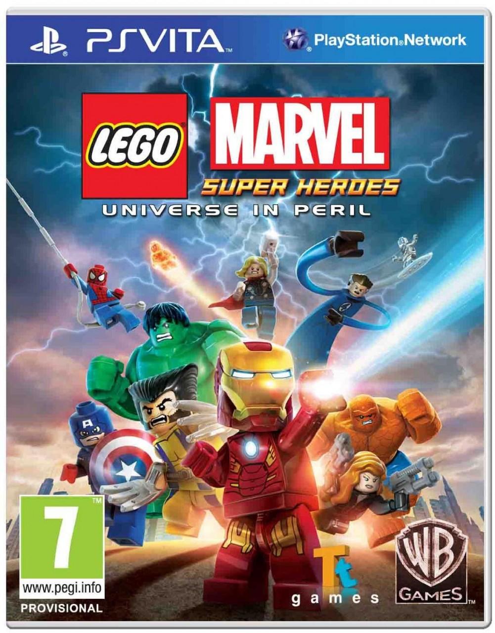 Lego Marvel Super Heroes: Universe in Peril PSVita  35.99