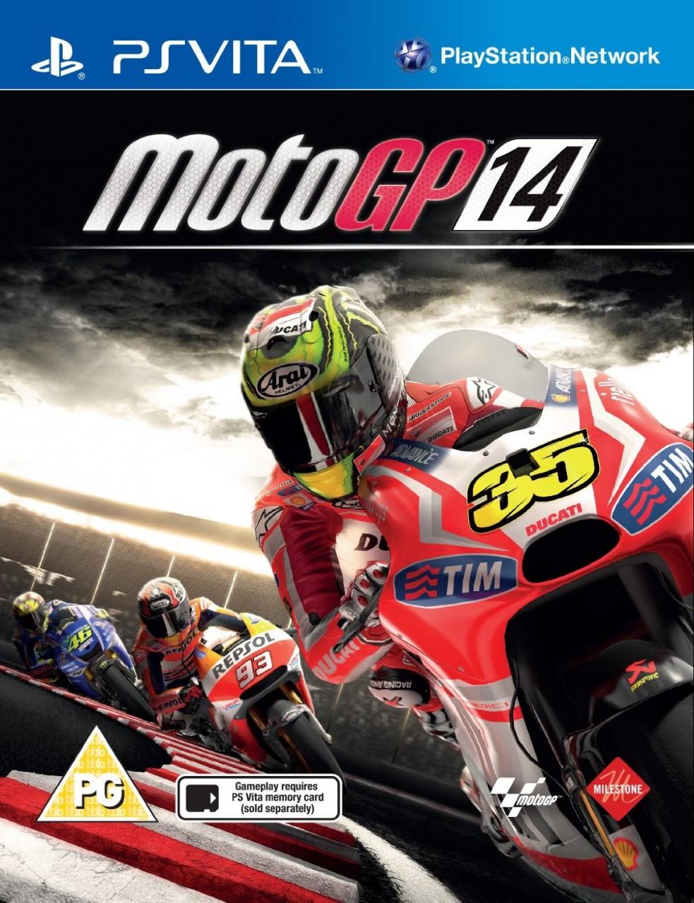 Moto GP 14 (MotoGP 14) PSVita  43.99