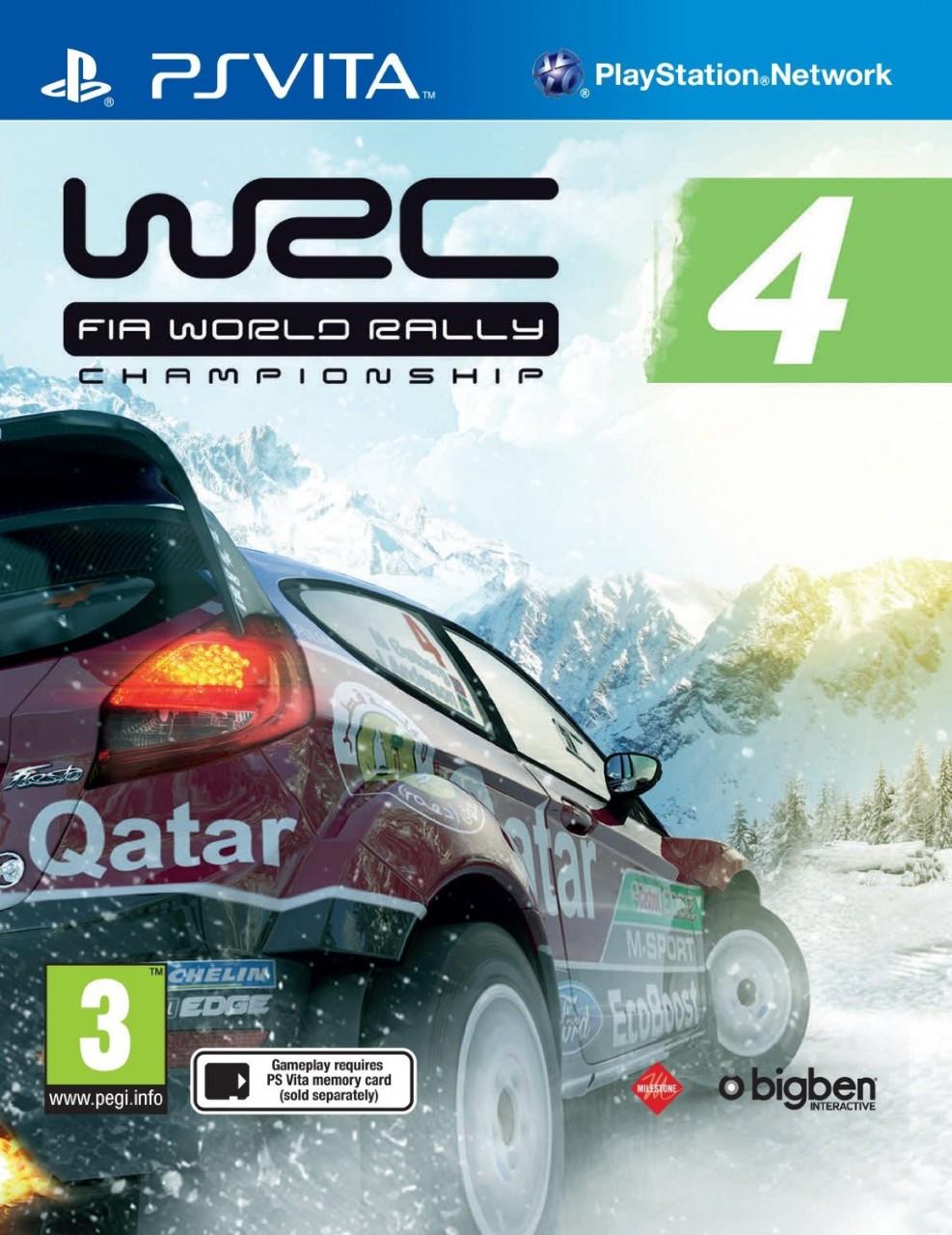 WRC 4: FIA World Rally Championship PSVita  39.99