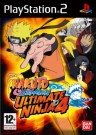 Naruto Shippuden Ultimate Ninja 4 Playstation 2 (PS2) video game