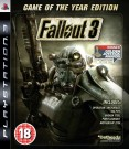 Fallout 3 Game of the Year (GOTY) Playstation 3 (PS3) video spēle