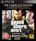 GTA Grand Theft Auto IV (4) Complete Edition Playstation 3 (PS3) video spēle - ir veikalā